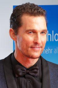 Schauspieler Matthew McConaughey
